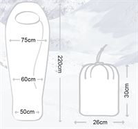 Oren Sleeping Bag Sizes