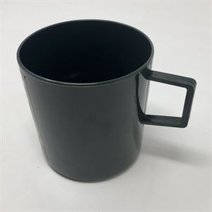 The Green plastic mug