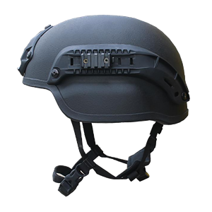 Mich Helmet with Rails