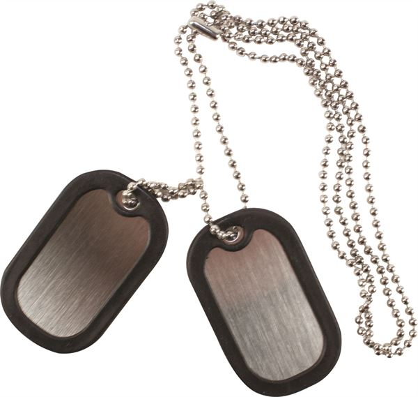 PB510_Stainless steel dog tag