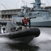 buccaneer Anti-Piracy Boat Stopping System Boat Mounted
